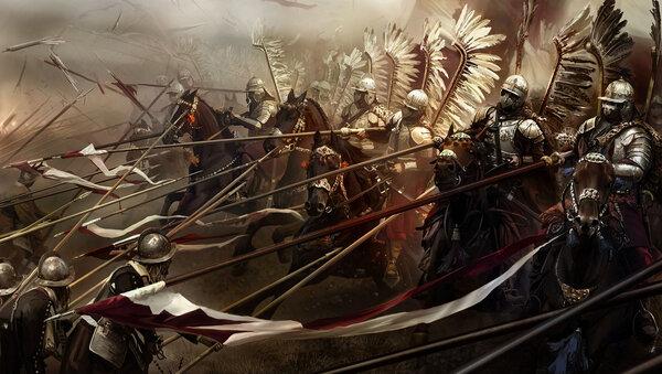 Гордая польская гусария против умного шведского короля