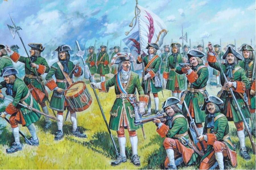 Линейная тактика начала XVIII века. Много ли солдат погибало в сражениях