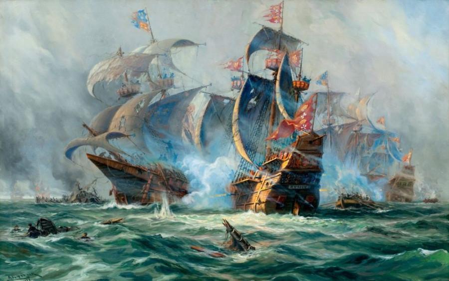 Справедливый дележ награбленного между пиратами и их спонсорами