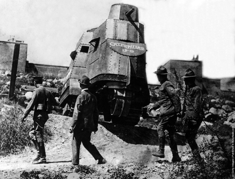 Первые обломы американцев с танками