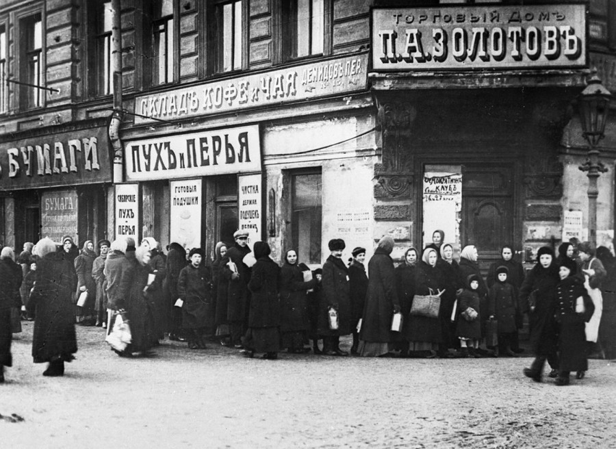 Голодные «хвосты». Как Россия катилась прямой дорогой к февралю 17-го