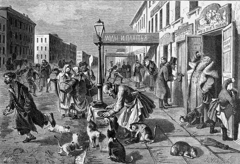 Удивительное сходство Петербурга конца XIX века с одним современным Нерезиновым городом