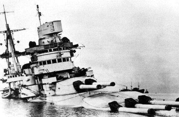 Корабль, который потопили трижды