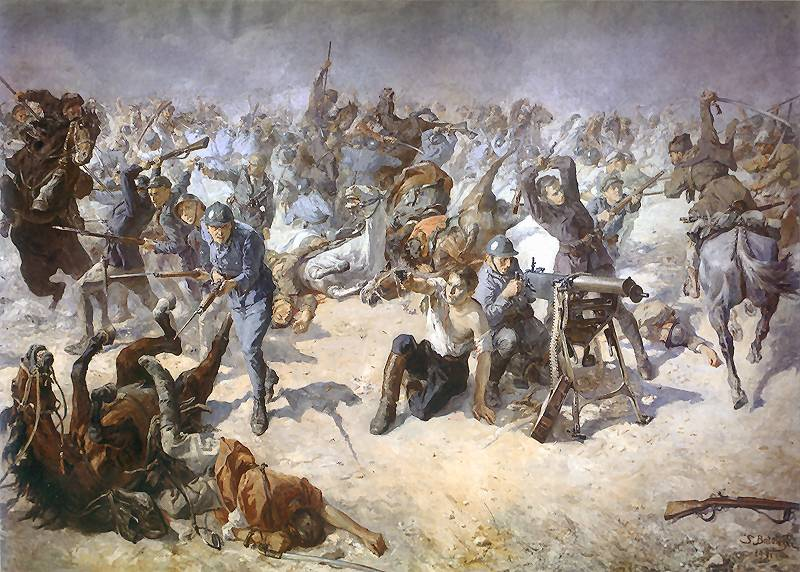 Военная глупость и ошибка, которую поляки приравнивают к подвигу 300 спартанцев