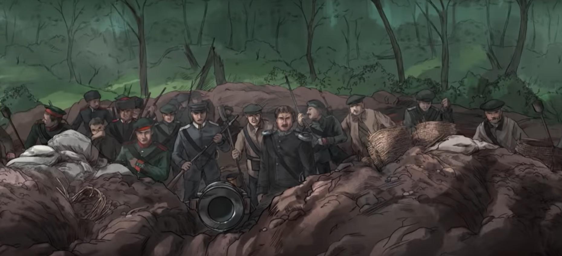 Отличная работа «Гвардии Камчатка» про героев Крымской войны