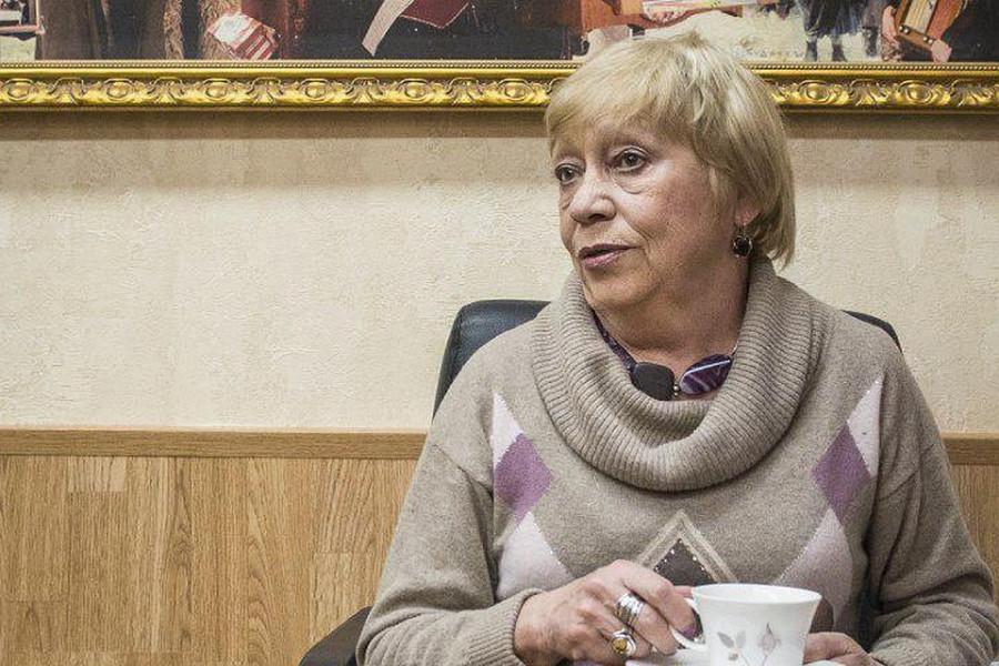 Надо же. Наталья Басовская умерла. Жаль