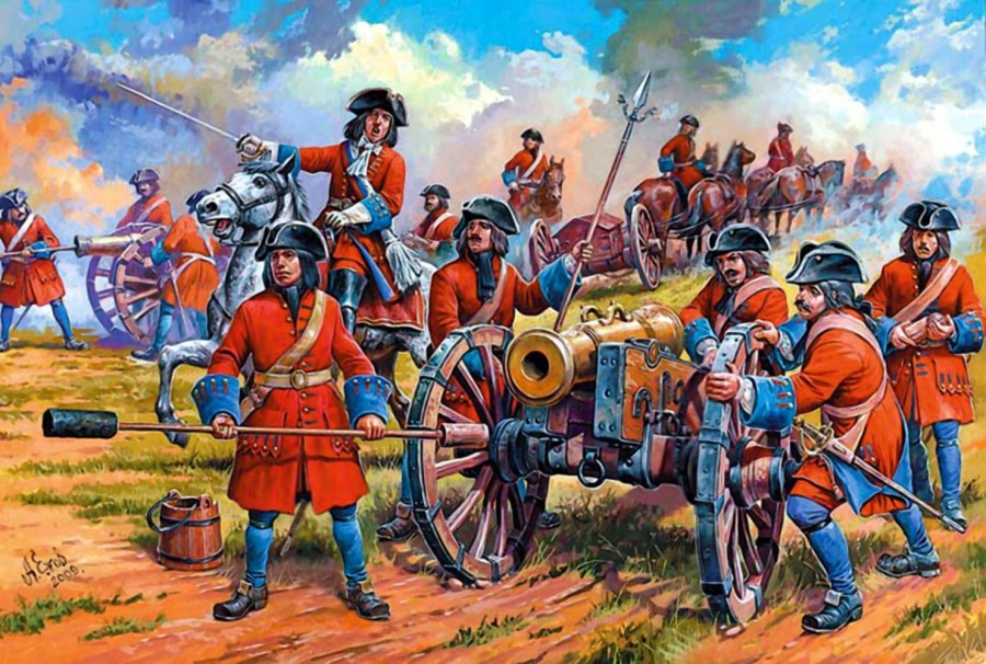 Почему артиллеристы Петра I радовались, когда их награждали пушками