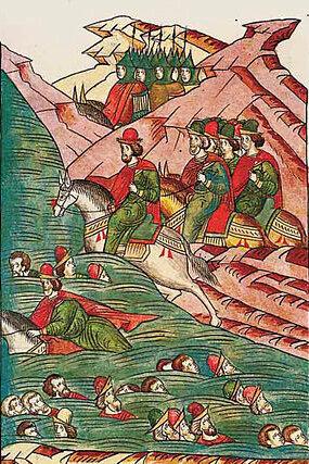 День, в который татары доходчиво объяснили русским дружинникам, что пить надо меньше и дома