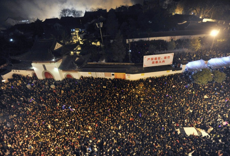 23 шокирующие фотографии, из которых вам станет понятно, насколько многолюден Китай