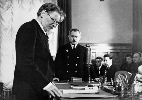 Михаил Калинин – настоящий глава советского правительства