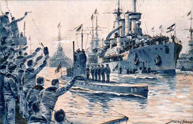 Геройская подлодка, потопившая три крейсера за час