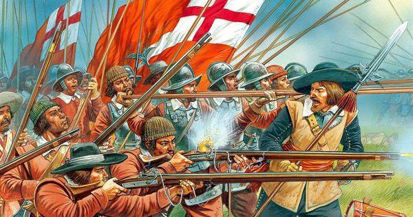 Английская революция. Как кавалеры и парламент стояли друг против друга при Тернем-Грине
