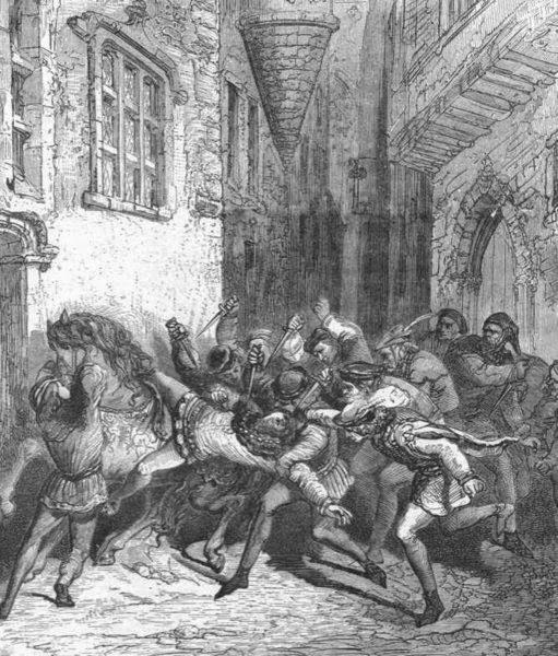 Убийство Людовика Орлеанского – начало войны арманьяков и бургиньонов