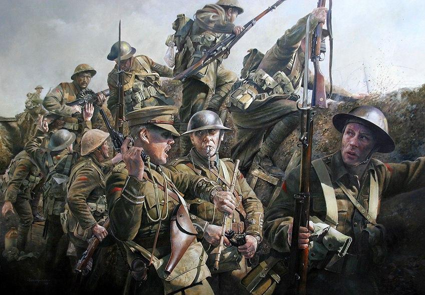 Пять жутковато-интересных фактов о битве на Сомме в 1916 году