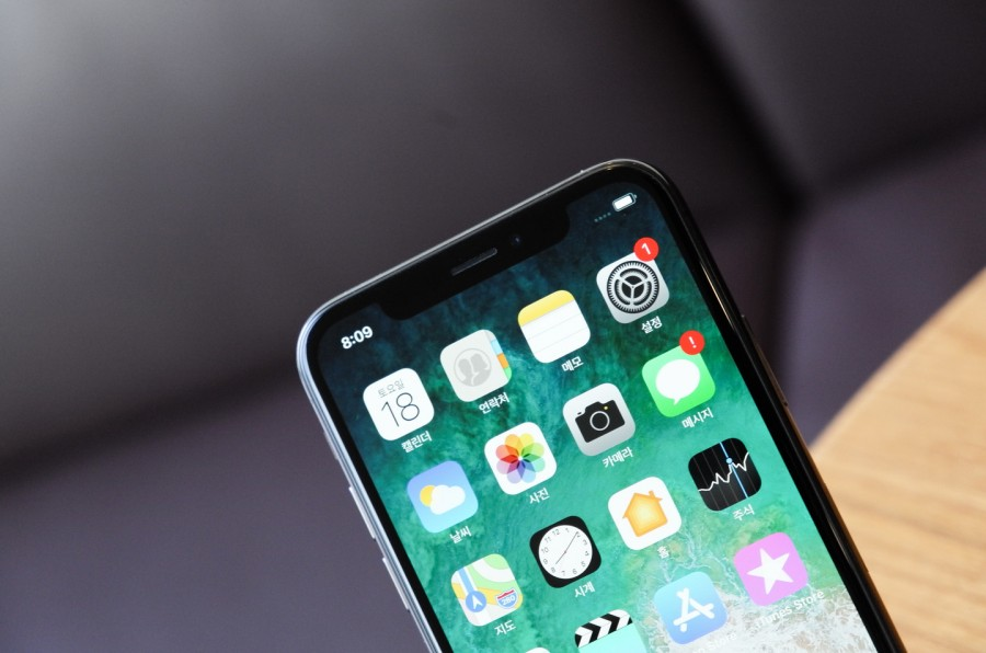 Новый большой косяк iPhone X
