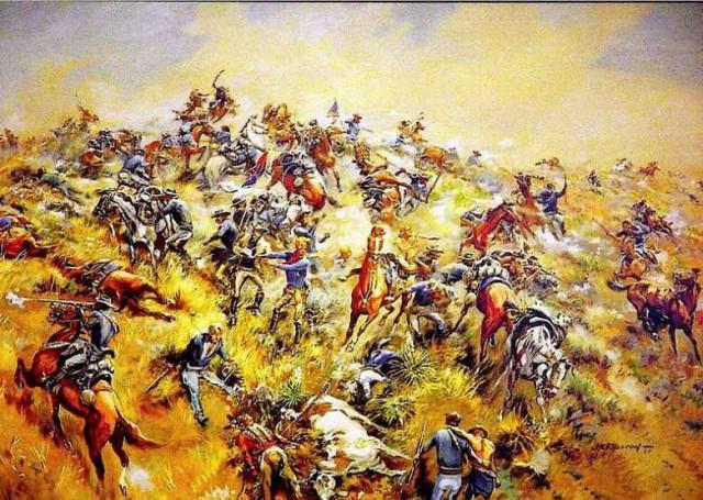 Сражение американцев и индейцев при Уошите – битва или бойня?