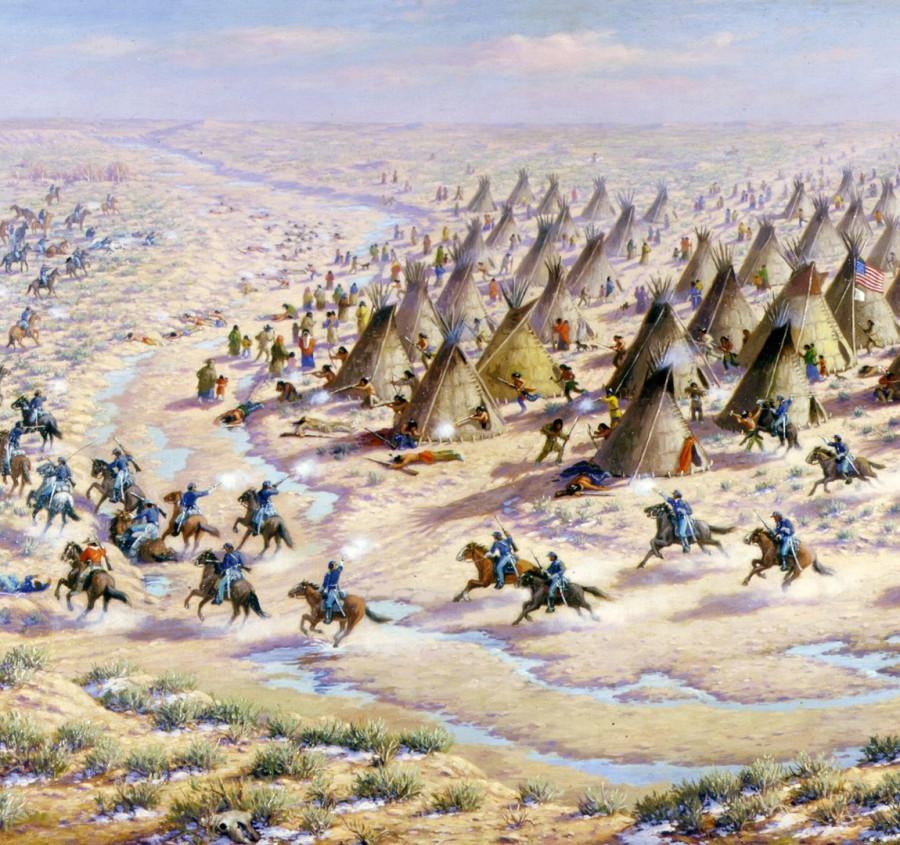 Бойня на Сэнд-Крик и начало большой войны американцев с шайеннами