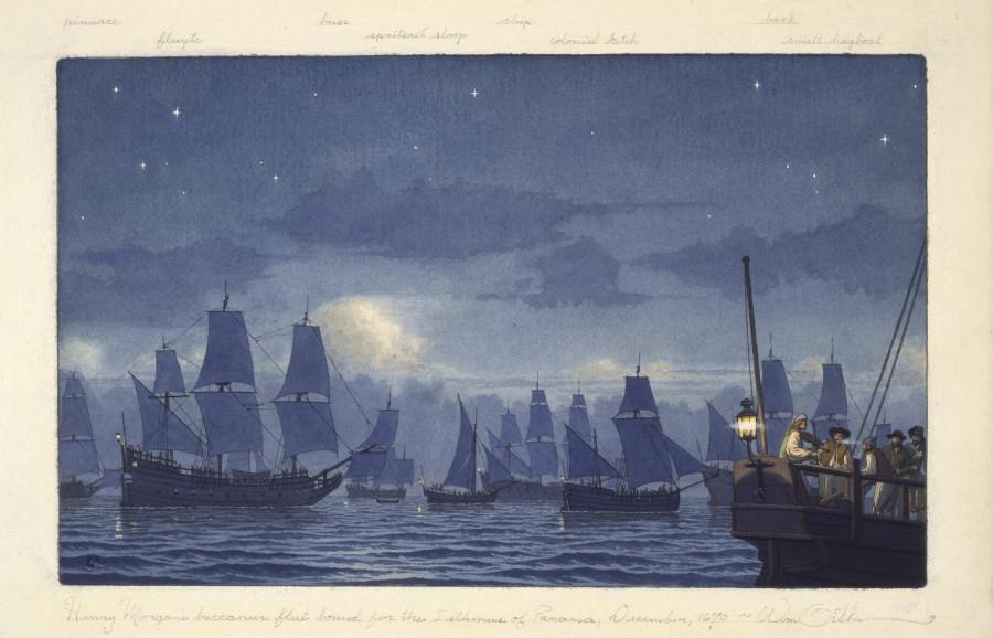 Как Генри Морган дорвался до Панамы