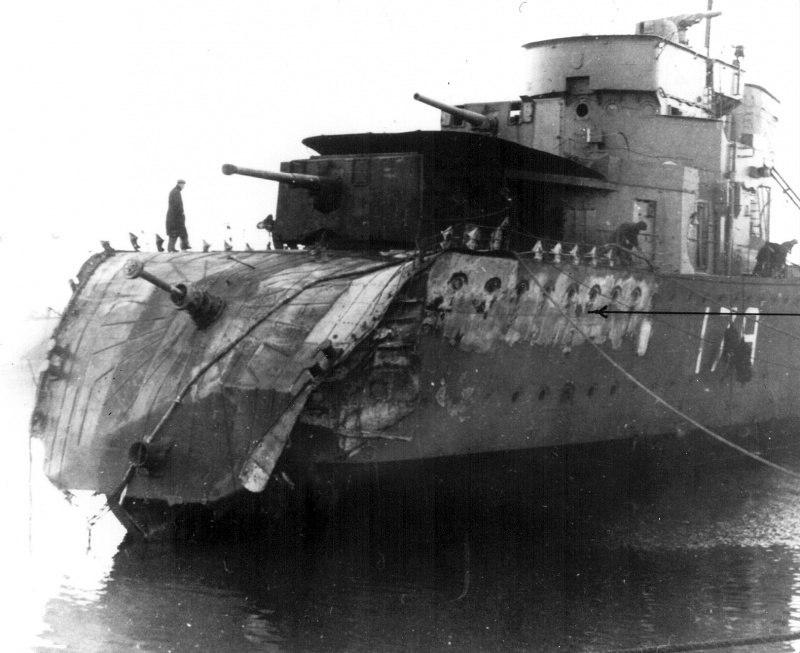 «Незначительно» поврежденный канадский эсминец