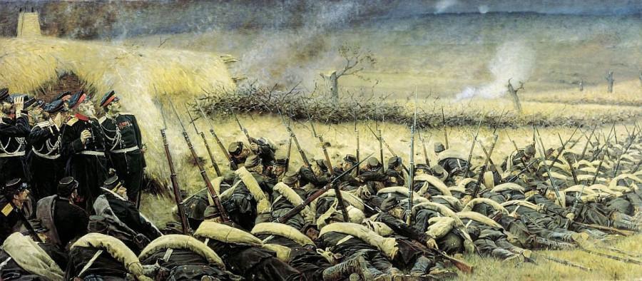 Осада Плевны и победа русской армии