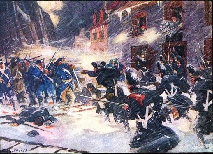 Как американцы попытались отнять у англичан Квебек