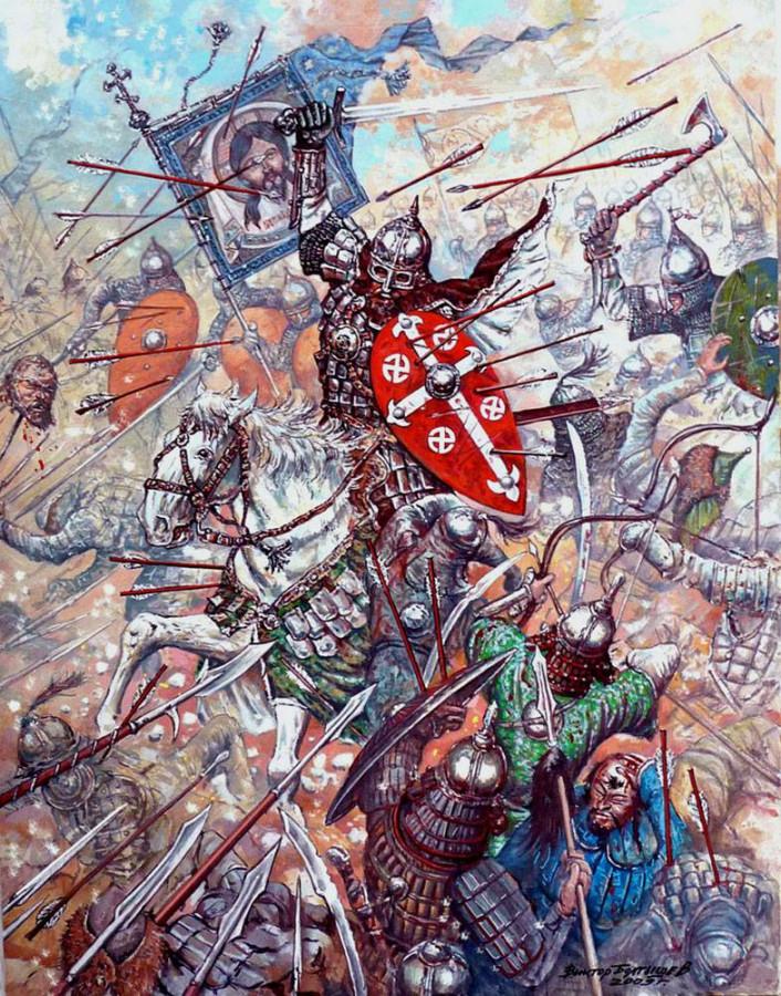 Нашествие Батыя и полное разорение Рязани