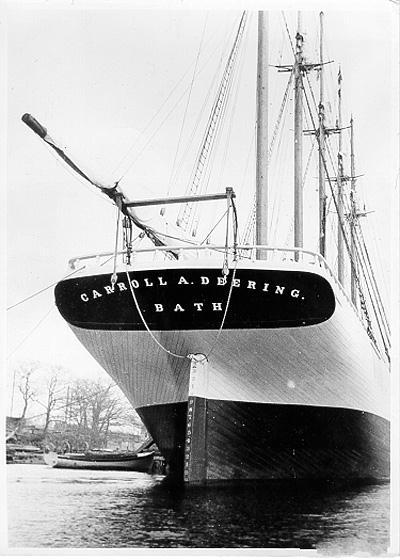 Пропавший экипаж шхуны «Кэррол А. Диринг»