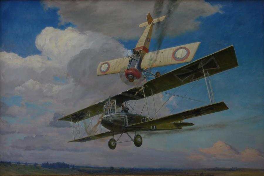 Русский пилот-ас. Автор мертвой петли и первого воздушного тарана