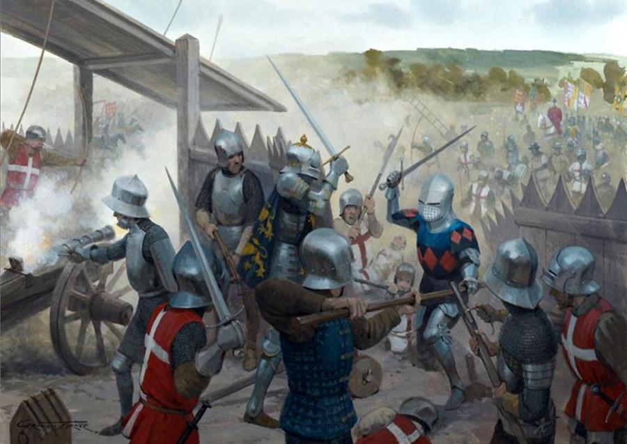 Последний бой Столетней войны