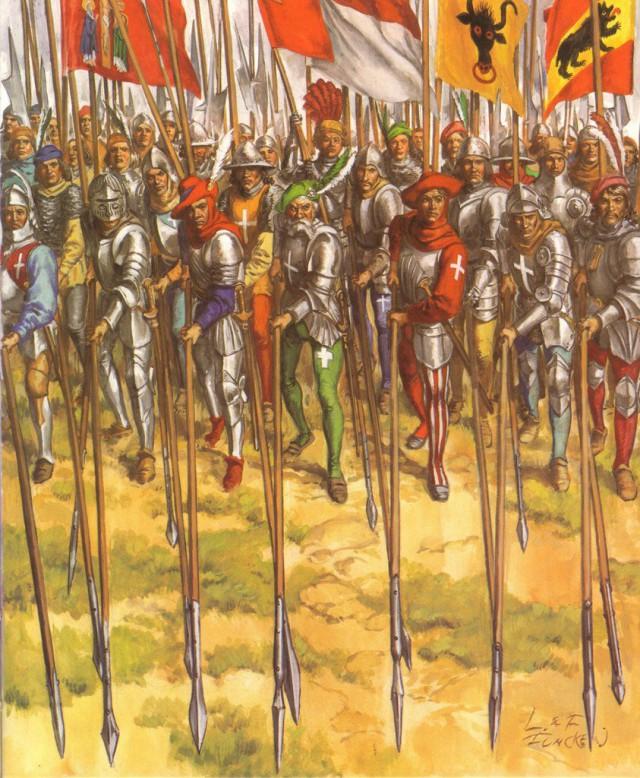 Непобедимых армий не бывает. Поражение швейцарцев при Арбедо