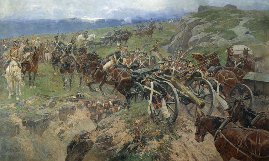 Как русские солдаты сделали «Живой мост»