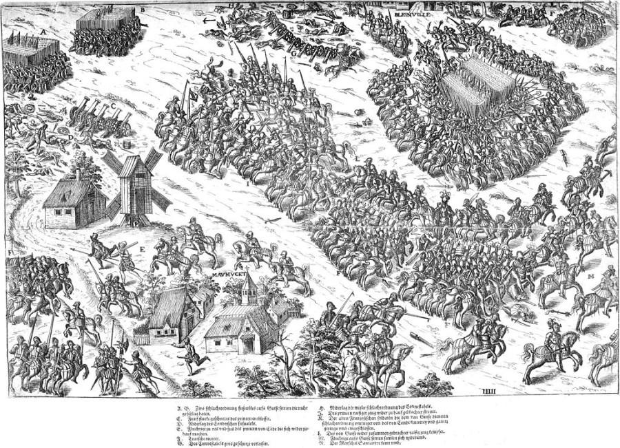 Удивительная битва, в которой командиры обеих армий угодили в плен
