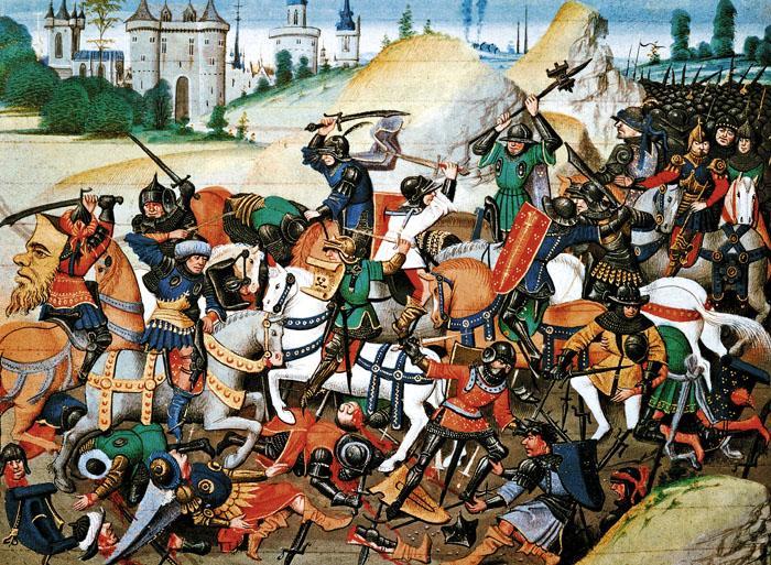 Перед разгромом Второго крестового похода