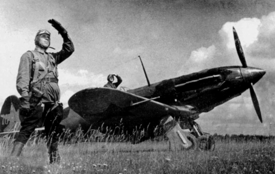 Один из первых таранов Великой Отечественной