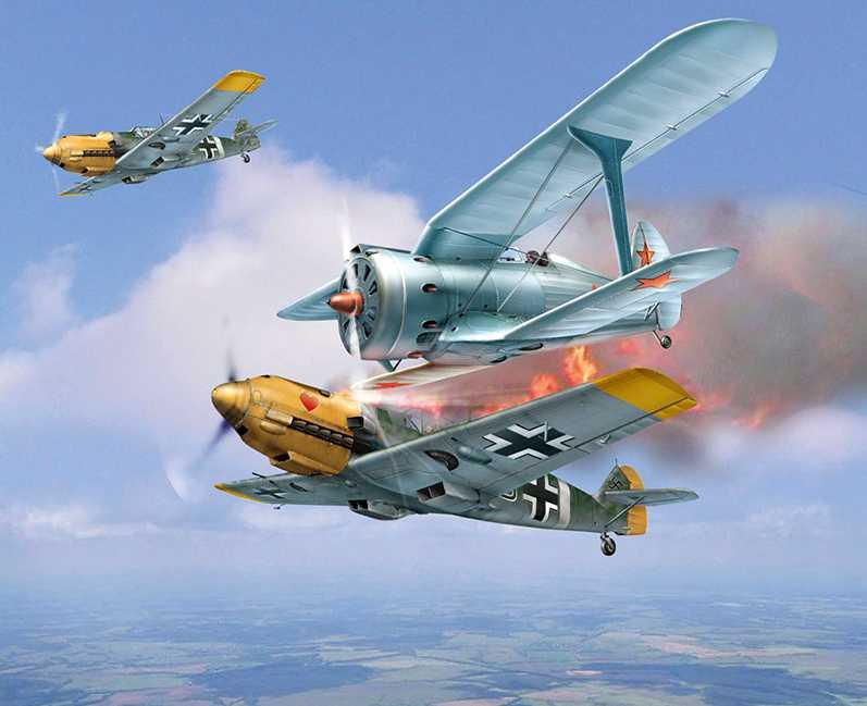Таран 22 июня 41-го за который летчика по  ошибке наградили посмертно