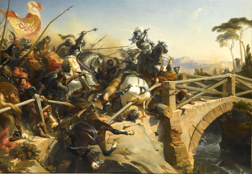 Битва на итальянских болотах