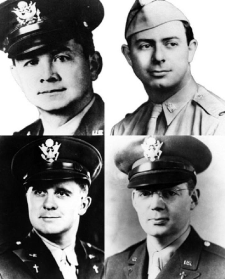 Четыре геройских капеллана