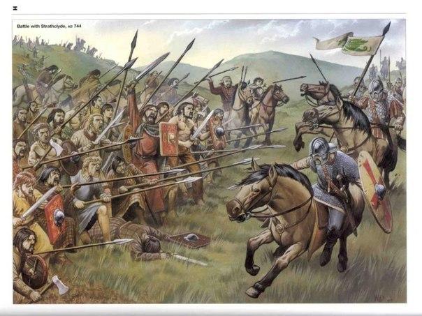 Битва, благодаря которой появилась Англия и Шотландия
