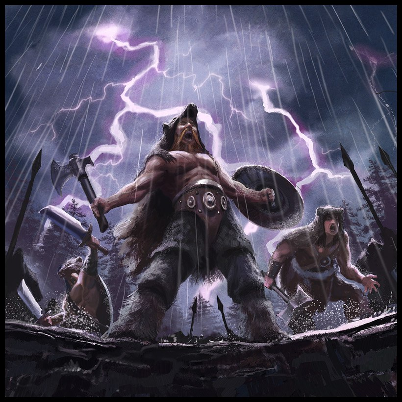 Один викинг против десяти тысяч саксов