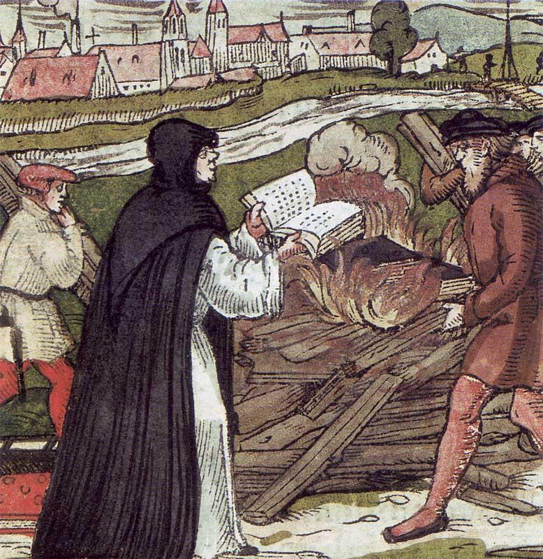 Как римский папа и Лютер не договорились