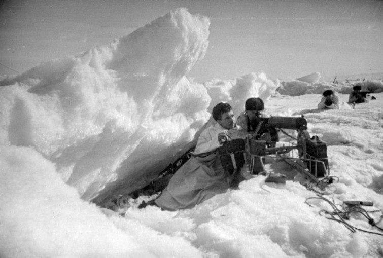 Десант Балтфлота на Гогланд зимой 41-42-го