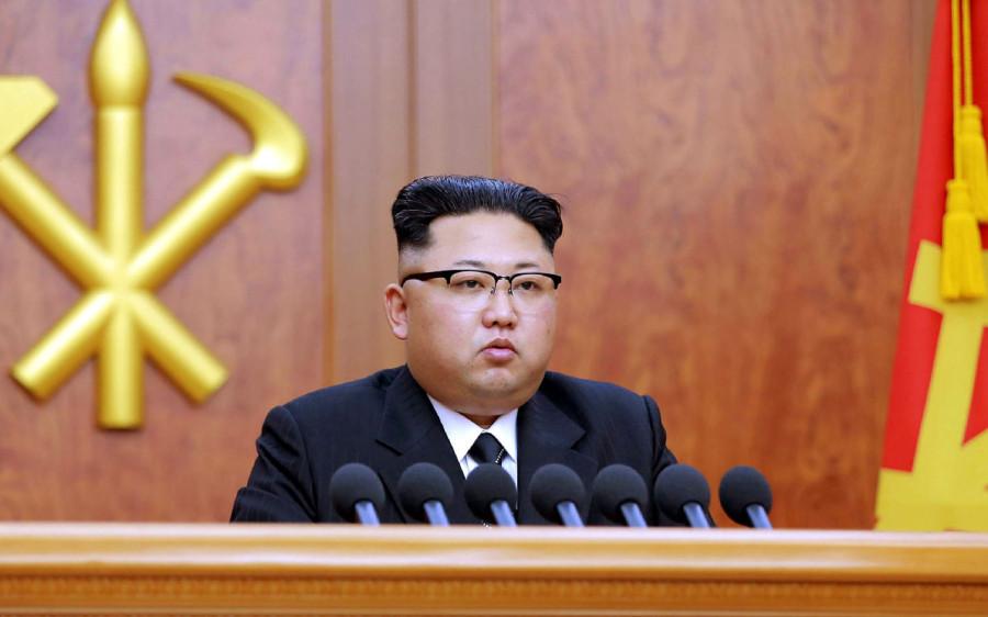 Шикарная новогодняя речь Ким Чен Ына