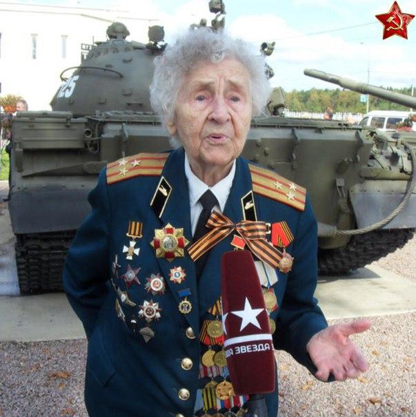 Женщина – командир танкоремонтной службы, прошедшая всю войну