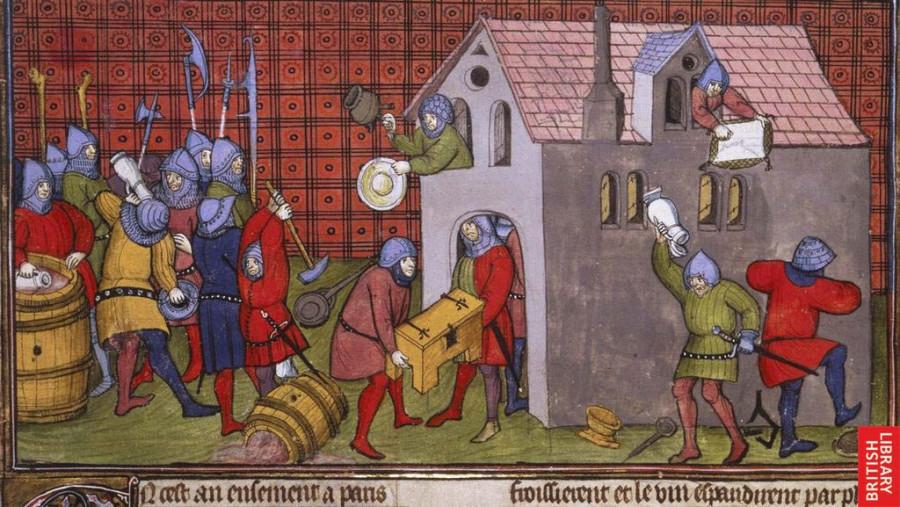 Правда о поведении настоящих английских рыцарей времен Столетней войны