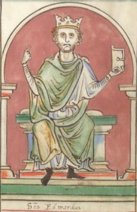 The last king of the Anglo-Saxons, Edward, then the king, of England, very, Knud, son, Aethelred, Normandy, a stranger, in general, arrange, opinion, other, nothing, moment, country, sons, more, Edward