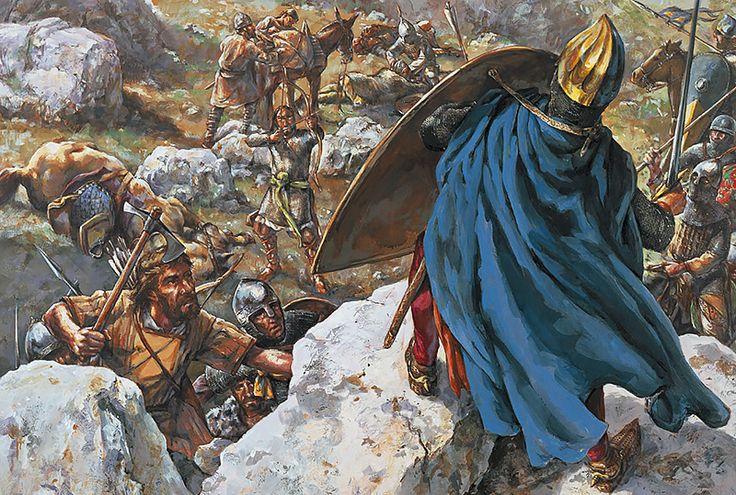 Бесславный конец II Крестового похода на горе Кадмус