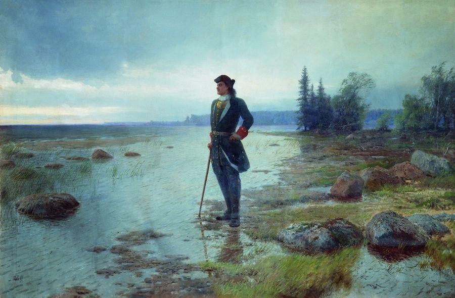 Петр I и питерские наводнения