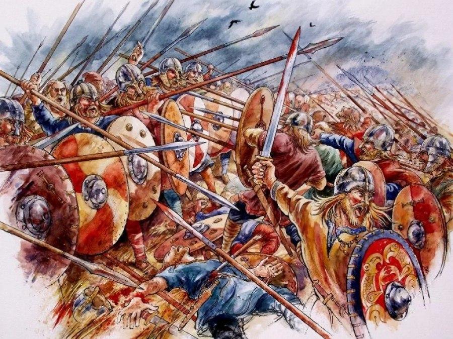 Как викинги первый раз обрушились на Уэссекс