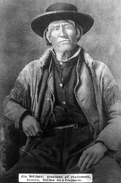 Первый белый человек, увидевший Йеллоустоун и Большое Соленое озеро