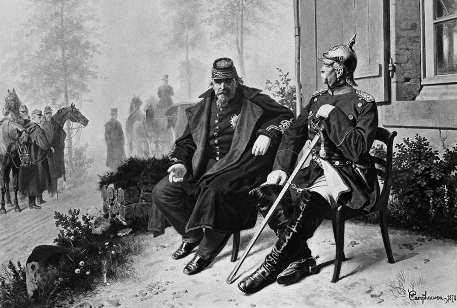 Как французы думали, что быстро настучат пруссакам, а в результате получили позор Седана